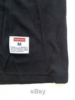 Supreme Playboy Long Sleeve Football Top Black Size M Shirt FW16 Box Logo New