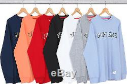 Supreme S/S 15 Athletic L/S Long Sleeve Top