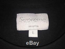 Supreme black R. I. P. Long sleeve top size L