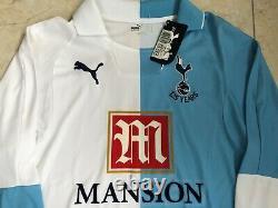 Tottenham Spurs Football Long Sleeve Shirt 125 Year Puma Medium Top M BNWT