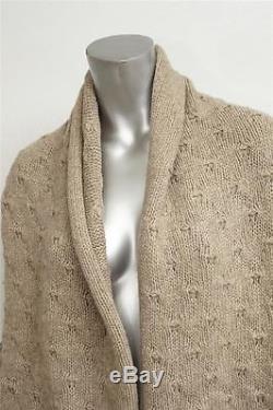 VINCE Womens Biege Casual Knit Long Sleeve Cardigan Sweater Top Shirt XS