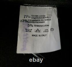 VIVIENNE WESTWOOD Black Lurex Corset, Long Sleeve, c. 2000's, Size 6 US