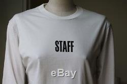 Vetements X Hanes Staff Long-sleeved Top Small