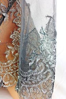 Victoria's Secret Designer Collection Top Long Sleeve & Panties Set M/s New S322