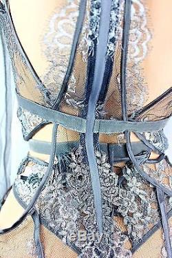 Victoria's Secret Designer Collection Top Long Sleeve & Panties Set Medium New