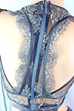 Victoria's Secret Designer Collection Top Long Sleeve & Panties Set Small New