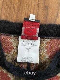 Vintage 90s jean paul gaultier long sleeve wool top