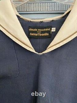 Vintage Claude Montana Pour Ferrer Y Sentis antique replica French sailors top