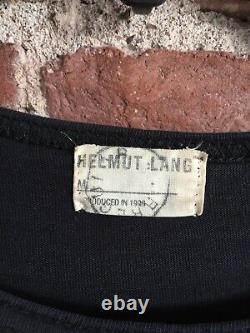 Vintage Helmut Lang Womens Top Sz Medium 1996 Italy