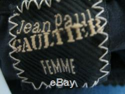 Vintage Jean Paul Gaultier Femme Size 40 Long Sleeve Mesh Tattoo Top