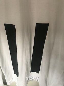 Vintage Late 90s Helmut Lang Mens Long Sleeve Print Top Tee Shirt Jumper