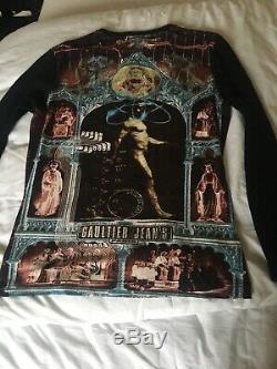 Vintage jean paul gaultier Print Long Sleeve Top 90s Y2k