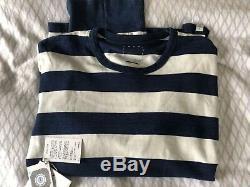 Visvim Long Sleeve Breton Stripe Heavy Cotton Top X 2 Colourways Both Size 3