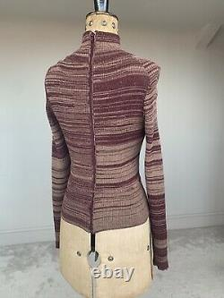 Vivienne Westwood Corset Top A/W 2012 Wool Fully Boned VTG Pristine Size S