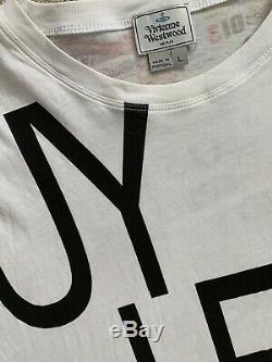 Vivienne Westwood Money Print Long Sleeved Top T Shirt L Unisex Elephant Dress L