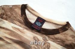 Women's Jean Paul Gaultier SS98 Bedouins & Dragons Maille Mesh Top Long Sleeve M