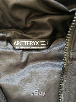 Womens Arcteryx Atom LT Hoody, Black, Large