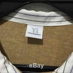 Yohji Yamamoto Y's Men's Tops Long-Sleeved Shirt Size 3