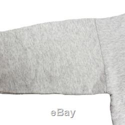 Yves Saint Laurent Long Sleeve Tops Trainer Light Gray Cotton Acrylic Auth #S315