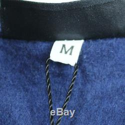 Yves Saint Laurent Long Sleeve Tops Trainer Navy Cotton Acrylic Italy Auth #S316