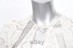 ZIMMERMANN Womens Cream Victorian Lace Long Sleeve Blouse Shirt Top 1 NEW